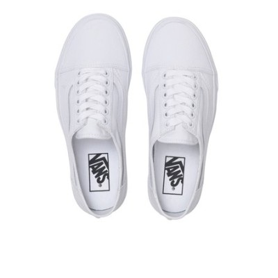 VN0A4P3YWC6 OLD SKOOL MULE WHITE/T.WHITE 605495-0001