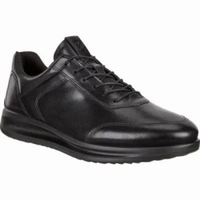 エコー スニーカー Aquet Sneaker Black Cow Leather