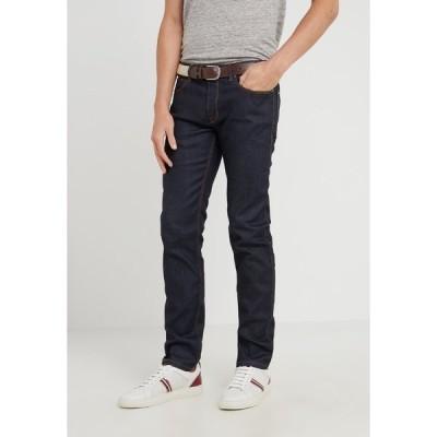 フューゴ デニムパンツ メンズ ボトムス Slim fit jeans - dark blue