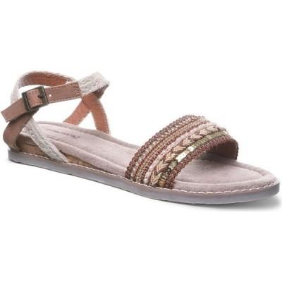 ベアパウ BEARPAW レディース サンダル・ミュール フラット シューズ・靴 Bali Flat Sandals Hickory