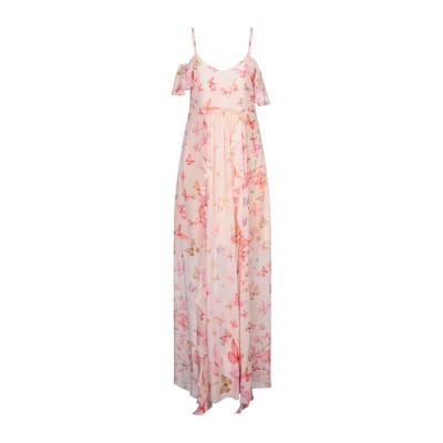 ツインセット シモーナ バルビエリ TWINSET ロングワンピース&ドレス ピンク 40 レーヨン 100% ロングワンピース&ドレス