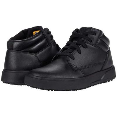 Caterpillar ProRush SR+ Chukka メンズ ブーツ Black Action Leather
