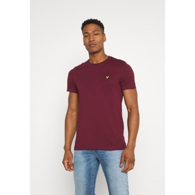 ライルアンドスコット Tシャツ メンズ トップス PLAIN - Basic T-shirt - merlot