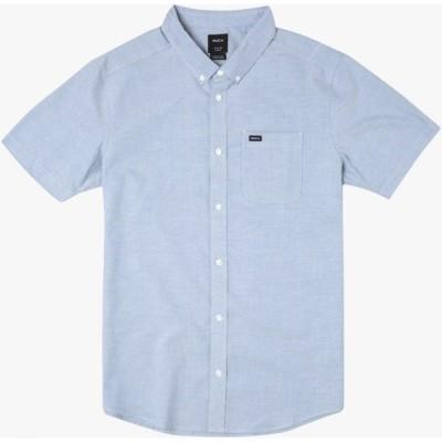 ルーカ RVCA メンズ シャツ トップス That'll Do Stretch Shirt Oxford Blue
