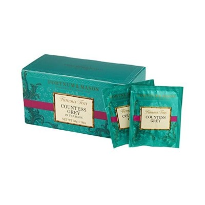 フォートナム&メイソン カウンテスグレイ ティーバッグ25個入り 個包装(Fortnum & Mason Countess Grey 25 Teaba