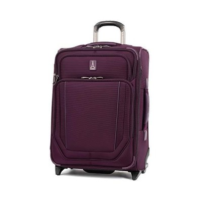 Travelpro Crew Versapack-Softside Expandable Upright Luggage, perfect Plum, Carry-On 21-Inch 海外輸入商品