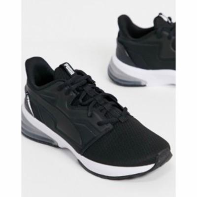 プーマ Puma レディース スニーカー シューズ・靴 Training Level Up Xt Trainers In Black And White ブラック