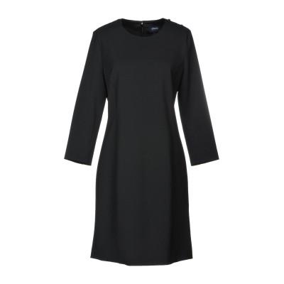 アルマーニ ジーンズ ARMANI JEANS ミニワンピース&ドレス ブラック 38 ポリエステル 53% / バージンウール 43% / ポリウ