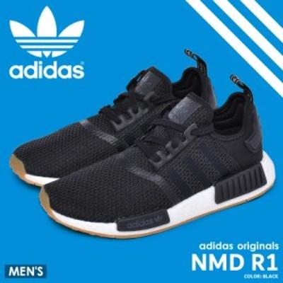 アディダス オリジナルス スニーカー メンズ シューズ 靴 ブラック 黒 ADIDAS ORIGINALS NMD R1 B42200