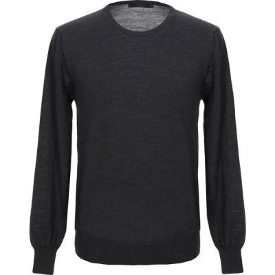 ブイネック VNECK メンズ ニット・セーター トップス sweater Steel grey