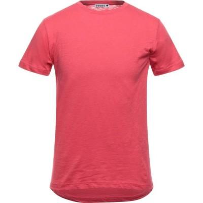 アンドレア フェンツィ ANDREA FENZI メンズ Tシャツ トップス T-Shirt Red