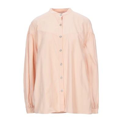 アリーニ AGLINI シャツ あんず色 42 コットン 100% シャツ