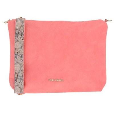 FRACOMINA レディース ハンドバッグ 鞄 サーモンピンク