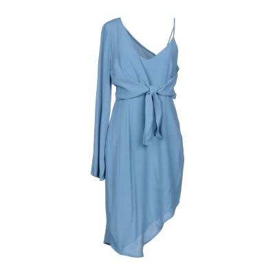 ELLIATT ミニワンピース&ドレス スカイブルー XS レーヨン 52% / レーヨン 48% ミニワンピース&ドレス