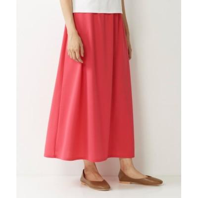 【大きいサイズ】 カットソージョーゼットロングスカート スカート, plus size skirts
