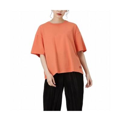 (MAC HOUSE(women)/マックハウス レディース)Dickies ディッキーズ バックラバープリントTシャツ 1282-7935/レディース オレンジ