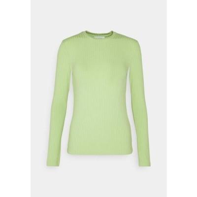 エディテッド レディース ファッション GINGER LONGSLEEVE - Long sleeved top - opaline green