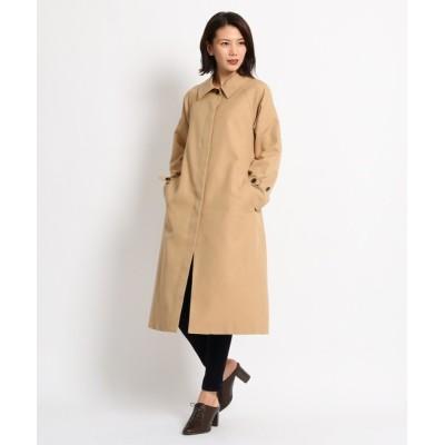 AG by aquagirl / チェック柄ステンカラーコート WOMEN ジャケット/アウター > ステンカラーコート