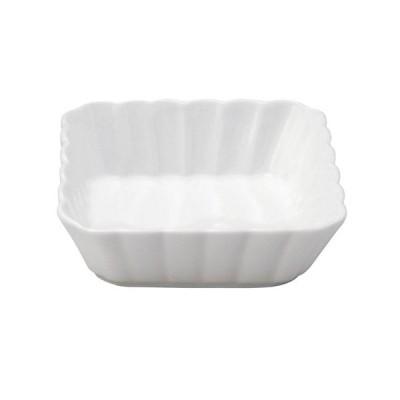 小鉢 和食器 / かすみ 白 11cm浅角鉢 寸法: D-11.3 H-3.2cm
