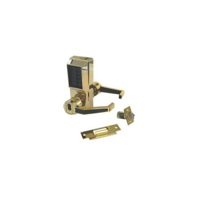 [新品]Simplex LR1021B-03-41 Right Hand Mechanical Push Button Lock With Small Format IC Prep Bright Brass Finish
