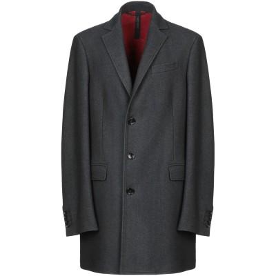 メッサジェリエ MESSAGERIE コート スチールグレー 54 バージンウール 75% / ナイロン 20% / カシミヤ 5% コート