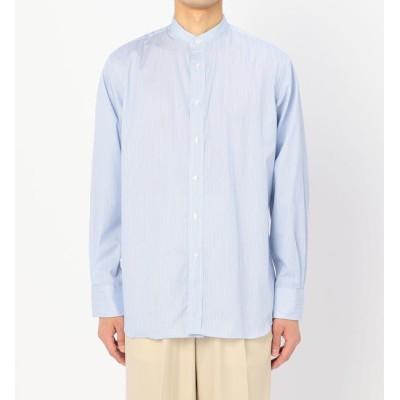 【ビショップ/Bshop】 【Individualized Shirts】〈別注〉バンドカラーシャツ ST MEN