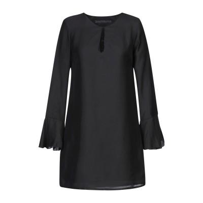 ゲス GUESS ミニワンピース&ドレス ブラック XS ポリエステル 100% ミニワンピース&ドレス