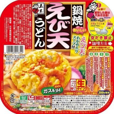 五木食品 鍋焼えび天うどん 220g ×18食入