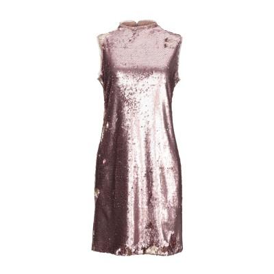 メルシー ..,MERCI ミニワンピース&ドレス パステルピンク 40 ポリエステル 95% / ポリウレタン 5% ミニワンピース&ドレス