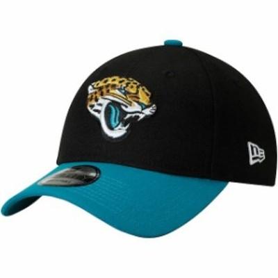 New Era ニュー エラ スポーツ用品  New Era Jacksonville Jaguars Black/Teal The League Two-Tone 9FORTY Adjustable Hat