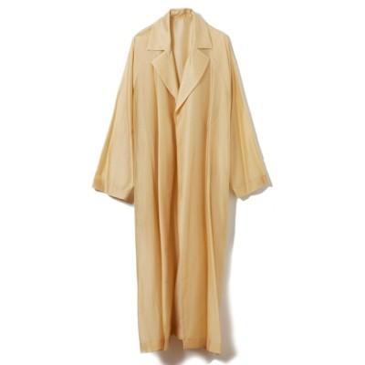 CLEAR IMPRESSION / 《musee》シアーボタンレスコート WOMEN ジャケット/アウター > トレンチコート