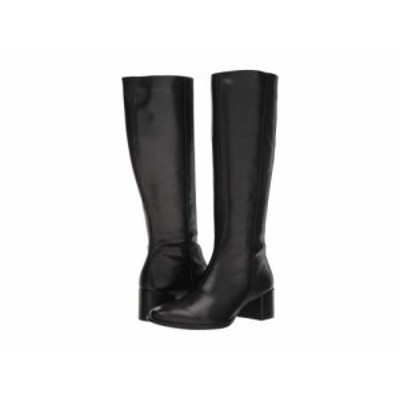 ECCO エコー レディース 女性用 シューズ 靴 ブーツ ロングブーツ Shape 35 Block Tall Boot Black Cow Leather【送料無料】