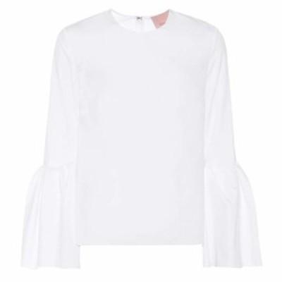 ロクサンダ Roksanda レディース トップス Truffaut cotton top white