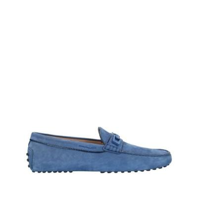 トッズ TOD'S メンズ ローファー シューズ・靴 loafers Dark blue