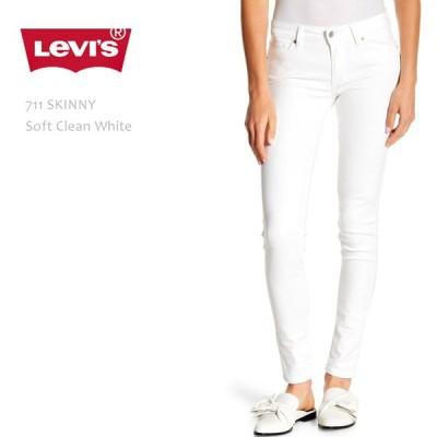 Levi's(リーバイス)711 SKINNY Soft Clean White