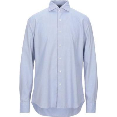 ザカス XACUS メンズ シャツ トップス Patterned Shirt Azure