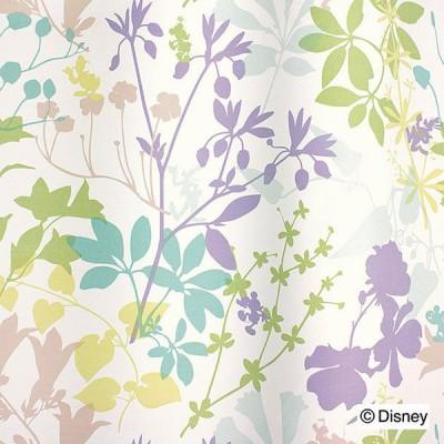 カーテン 日本製 ディズニー DISNEY MICKEY Carnival カーニバル 2級遮光 ウォッシャブル ライトブルーグリーン ローズ 1枚入 代引不可