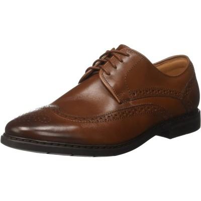 [クラークス] ビジネスシューズ 革靴 バンバリーリミット ブリティッシュタンレザー UK075 / 25.5cm