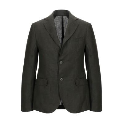 MARCIANO テーラードジャケット ミリタリーグリーン 48 リネン 100% テーラードジャケット