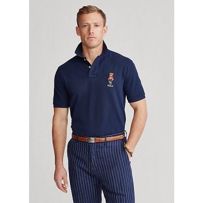 ポロ ラルフローレン メンズ Ralph Lauren Classic Polo Sport Bear Polo ポロシャツ 半袖 Cruise Navy