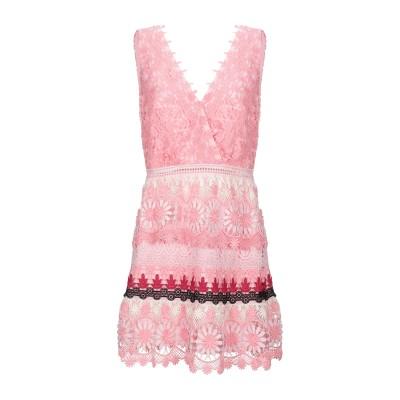 SELF-PORTRAIT ミニワンピース&ドレス ピンク 8 ポリエステル 100% ミニワンピース&ドレス