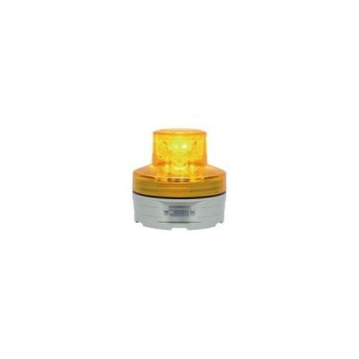 日惠製作所 電池式回転灯 φ76 ニコUFO(黄) 手動 (1個) 取り寄せ商品