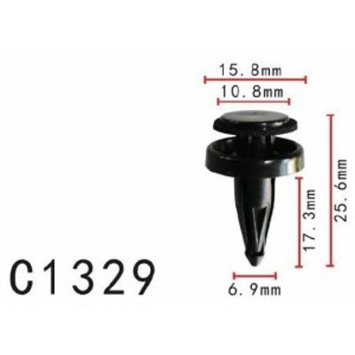 プッシュ リベット トヨタ系 パネル用 PF-C1329 10個