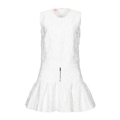 ジャンバ GIAMBA ミニワンピース&ドレス ホワイト 38 ポリエステル 78% / ナイロン 22% ミニワンピース&ドレス