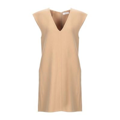 クロエ CHLOÉ ミニワンピース&ドレス キャメル 36 バージンウール 98% / ポリウレタン 2% ミニワンピース&ドレス