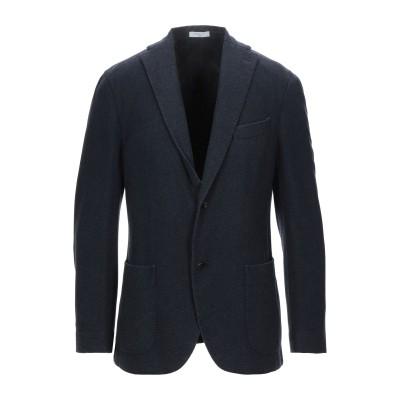 ボリオリ BOGLIOLI テーラードジャケット ダークブルー 48 ウール 100% テーラードジャケット