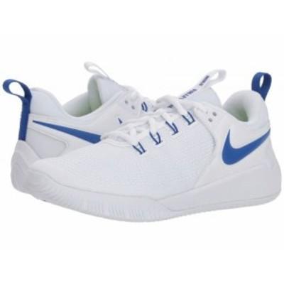 Nike ナイキ レディース 女性用 シューズ 靴 スニーカー 運動靴 Zoom HyperAce 2 White/Game Royal【送料無料】