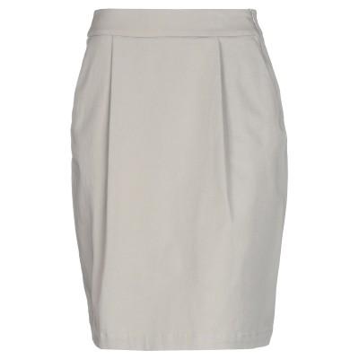 ペゼリコ PESERICO ひざ丈スカート ライトグレー 42 コットン 98% / ポリウレタン 2% ひざ丈スカート
