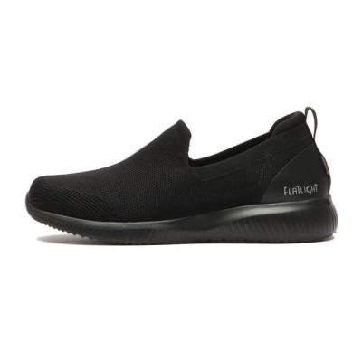 レディース【ABC SELECT】  SOCK SLIP ON ソック スリップオン W1005 BLACK 6H(23.5cm) ブラック