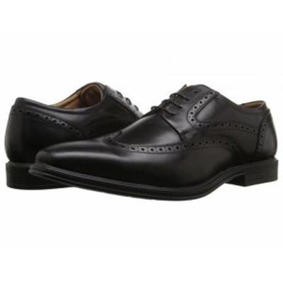 Florsheim フローシャイム メンズ 男性用 シューズ 靴 オックスフォード 紳士靴 通勤靴 Heights Wingtip Oxford Black【送料無料】